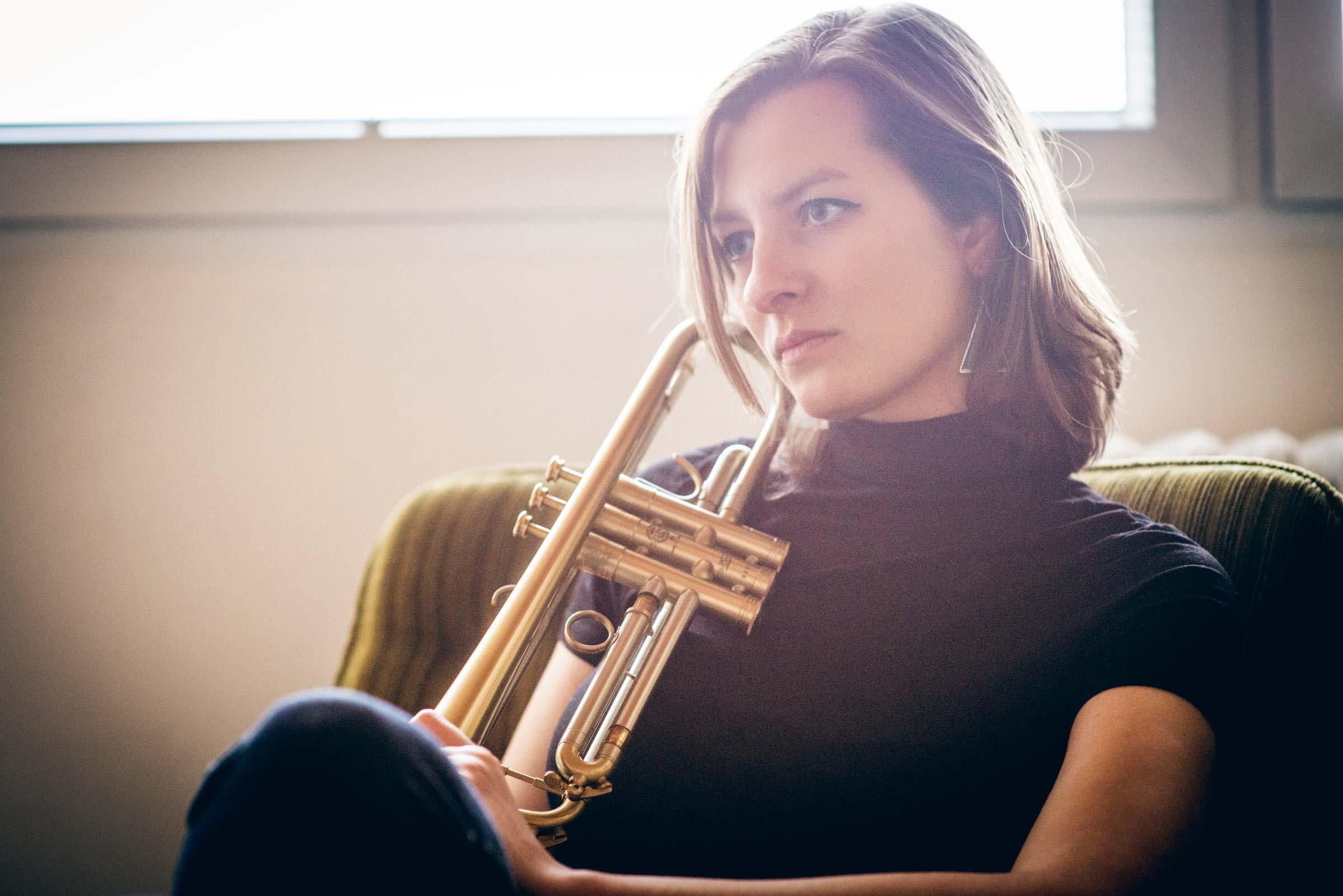 Štěpánka Balcarová - jazzová trumpetistka, skladtalka a dirigentka